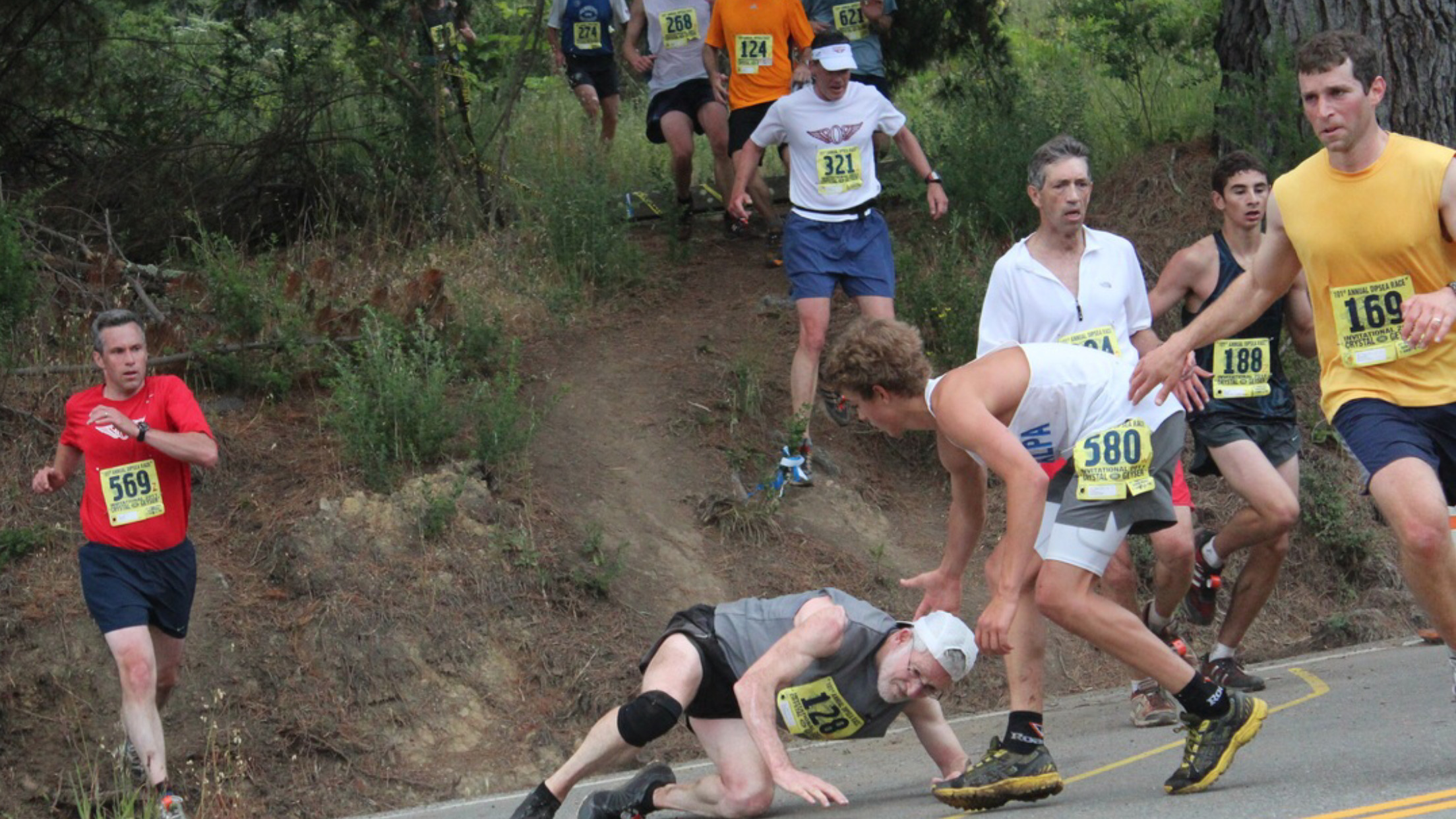 The Dipsea is the oldest Trail Race in America