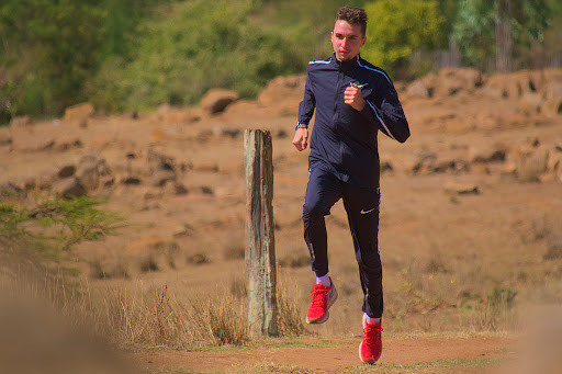 Switzerland's Julien Wanders very much at home in Iten Kenya