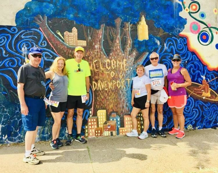 Kris Carroll and her family have unforgettable memories at the Bix 7 Miler race