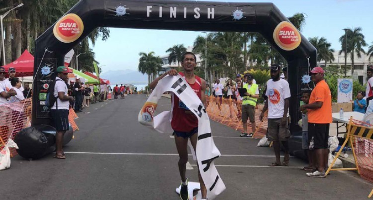 South Pacific Games Gold Medalist and Chill Suva Marathon winner Avikash Lal is going to run the Boston Marathon