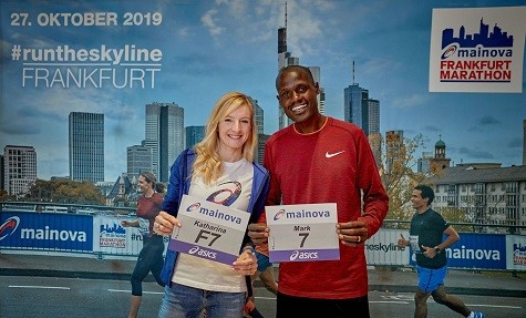 German Katharina Steinruck and Kenyan Mark Kiptoo will headline the elite field at Mainova Frankfurt Marathon On Sunday