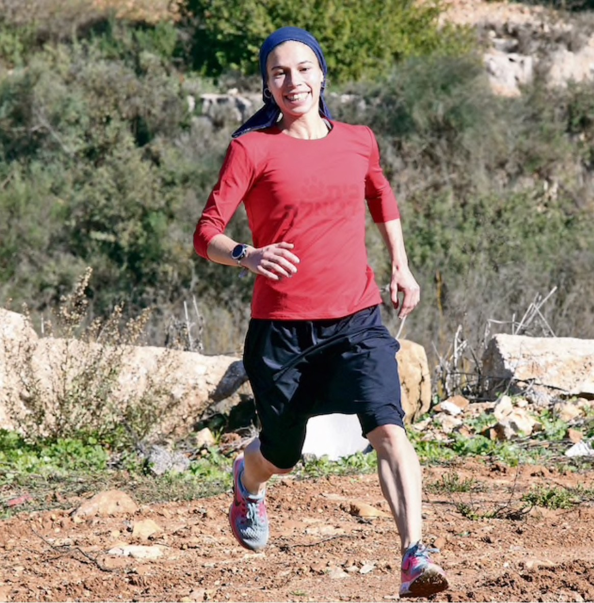 Bracha Deutsch a mother of five is Israel's most unlikely marathon runner