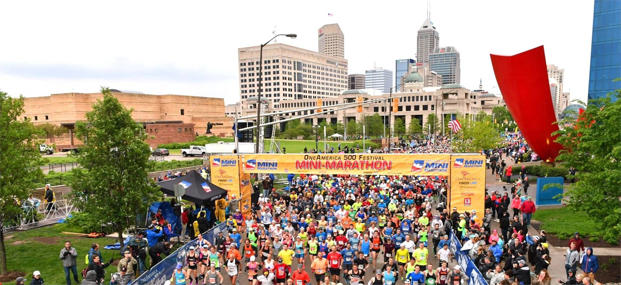 The OneAmerica 500 Festival Mini-Marathon has been named Best Half Marathon in America in 2018