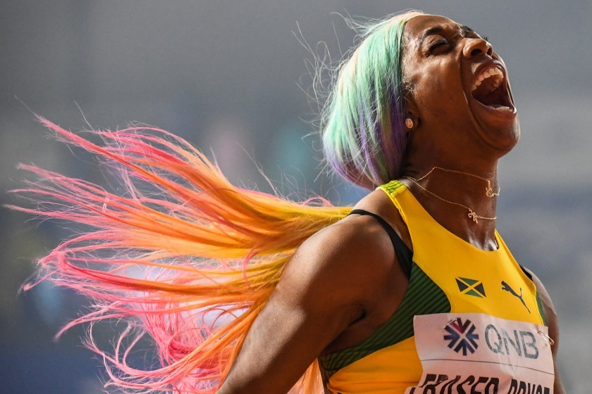 Jamaica's Shelly-Ann Fraser-Pryce unstoppable taking fourth world title