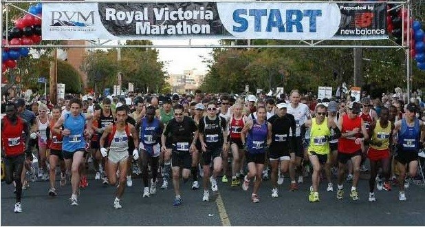 Victoria Marathon Flush Virtual Series will be run in addition to the in-person race, assuming it can go ahead as scheduled in October