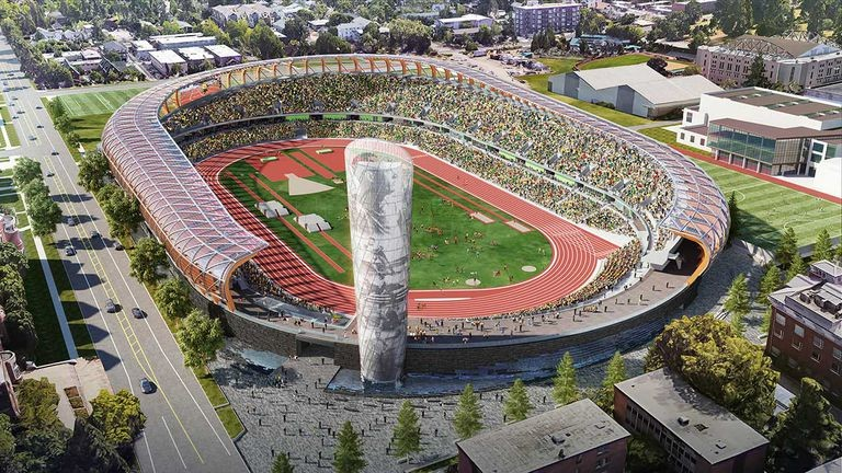 Tracktown USA hopes to be selected to host the USATF 2020 Olympic Trails