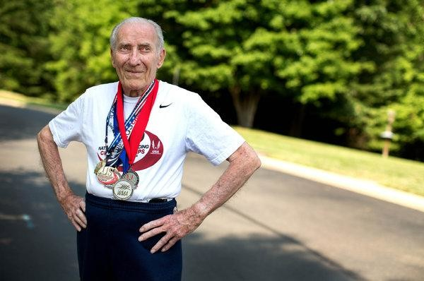 Roy Englert Sets Age 95 World Record