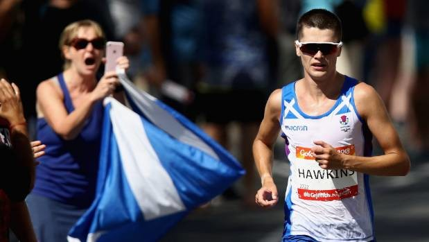 Update on Callum Hawkins who callasped with just over a mile to go at the Commonwealth Games Marathon Sunday Morning