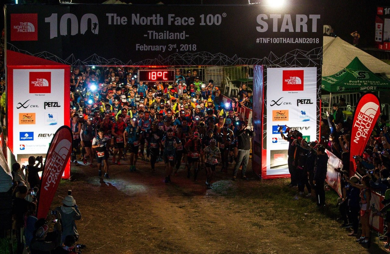 Records smashed at The North Face 100 Thailand 2018