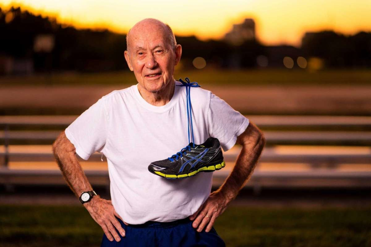 Ruger Winchester, at 89, is training to run the We Are Houston 5K in January