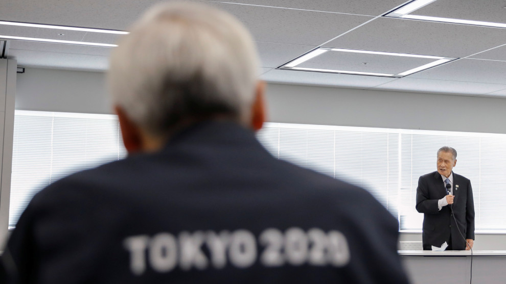 Tokyo 2020 president Yoshiro Mori has said the Olympics would have to be cancelled if the coronavirus pandemic isn't brought under control by next year