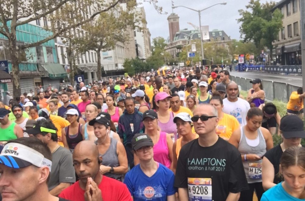 Another look at the New York City Marathon from the pack of 52,812 runners