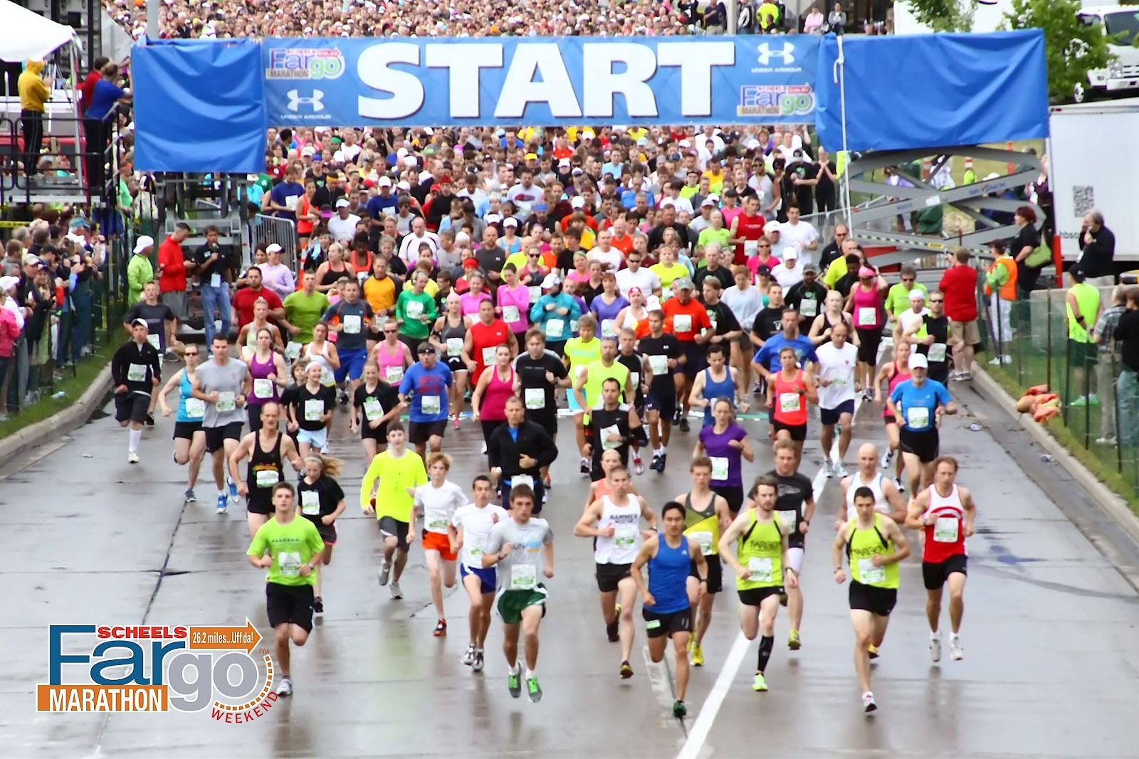 This year's Red River flood is forcing the organizers of the Fargo Marathon to make some course changes