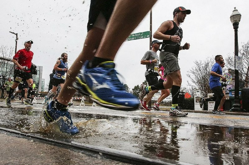 Little Rock Marathon forecast predicts cold rain during the race this weekend