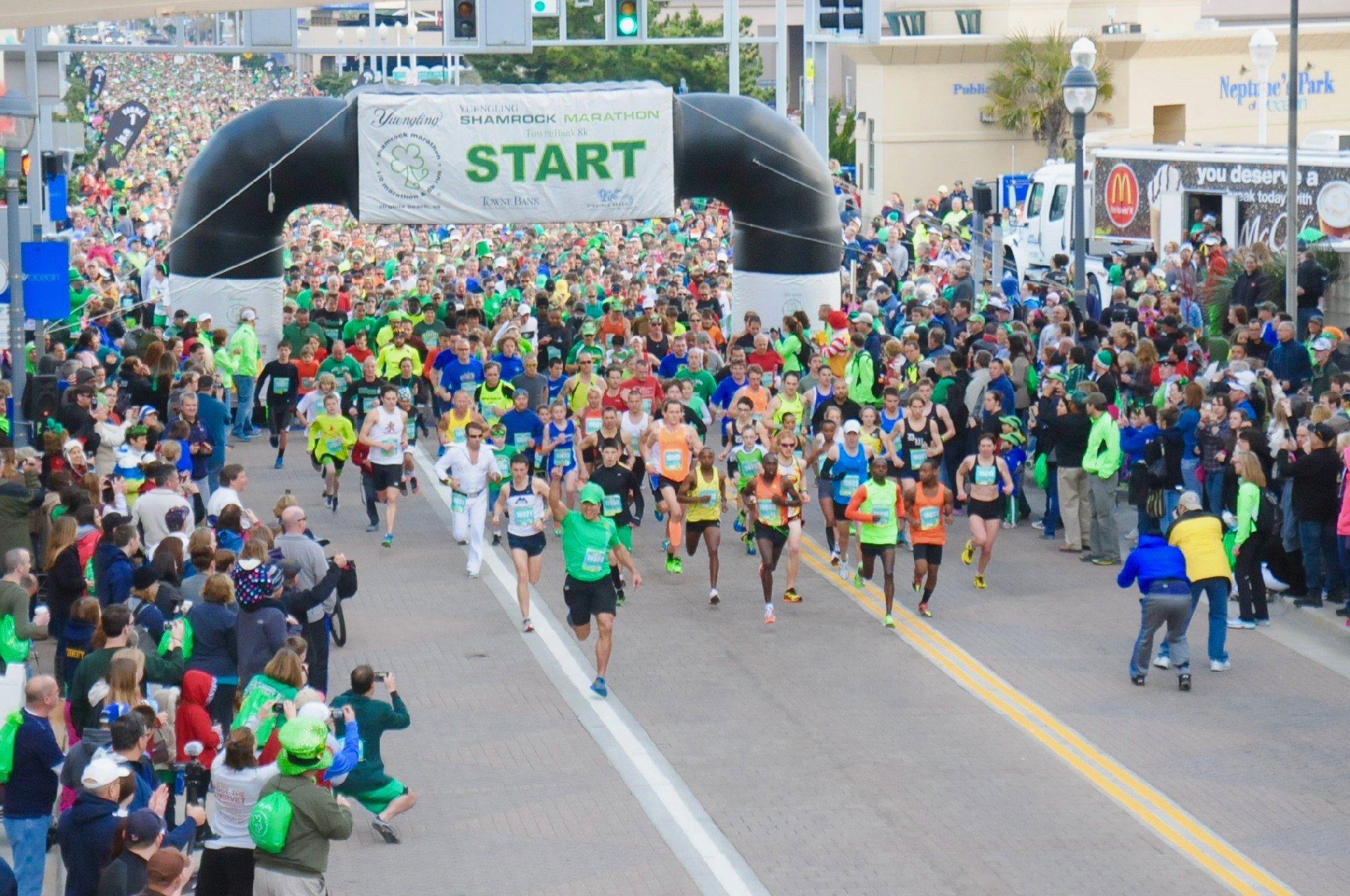 2021 Shamrock Marathon was a success but with most runners participating virtually