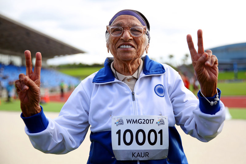 Man Kaur a 102-Year-Old Runner, shares her secrets as she is still running and racing winning gold medals