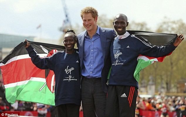 Prince Harry's touching message for London Marathon runners for hitting the one billion pounds fundraising mark