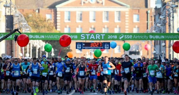 The 2020 Dublin Marathon is expected to be cancelled