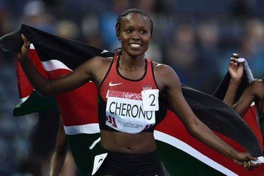 Mercy Cherono is back after a long maternity leave break