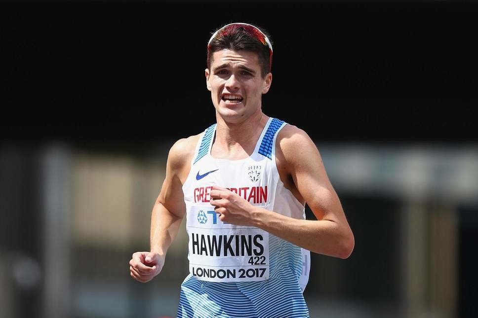 Callum Hawkins has unfortunately withdrawn from the Fukuoka Marathon due to a hamstring situation
