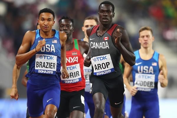 Canada's Marco Arop sets sights on Tokyo