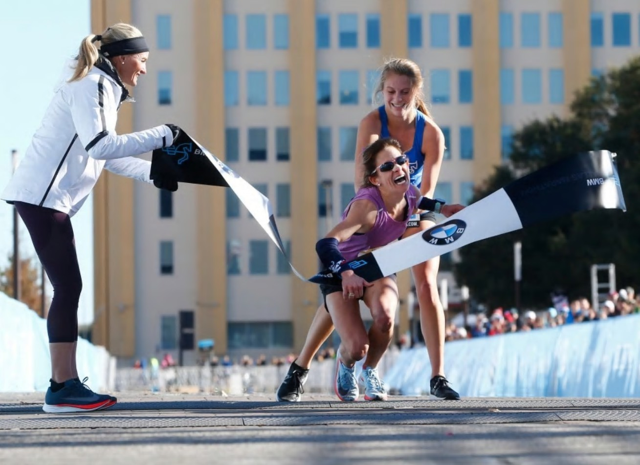 Gut-wrenching finish at Dallas Marathon