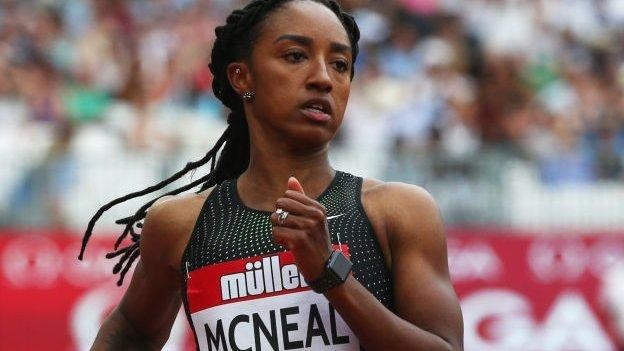 Olympic 100m hurdles champion Brianna McNeal could face eight-year ban