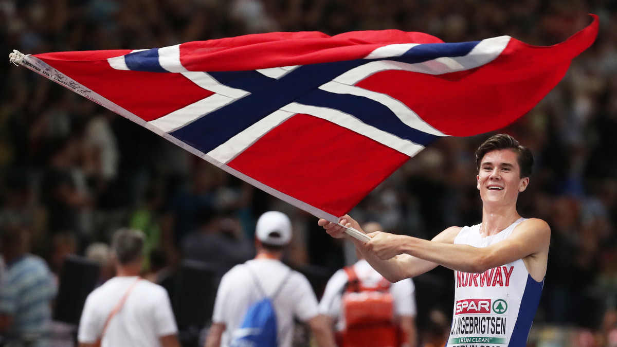 Jakob Ingebrigtsen who set the Norwegian national 5,000m record of 13:02.03 says he plans to double at the World Championships in Doha