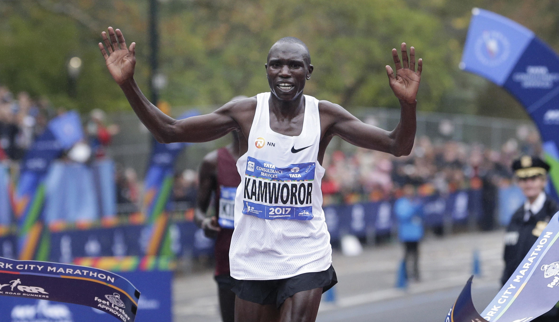 Geoffrey Kamworor is ready to reclaim his New York City Marathon title