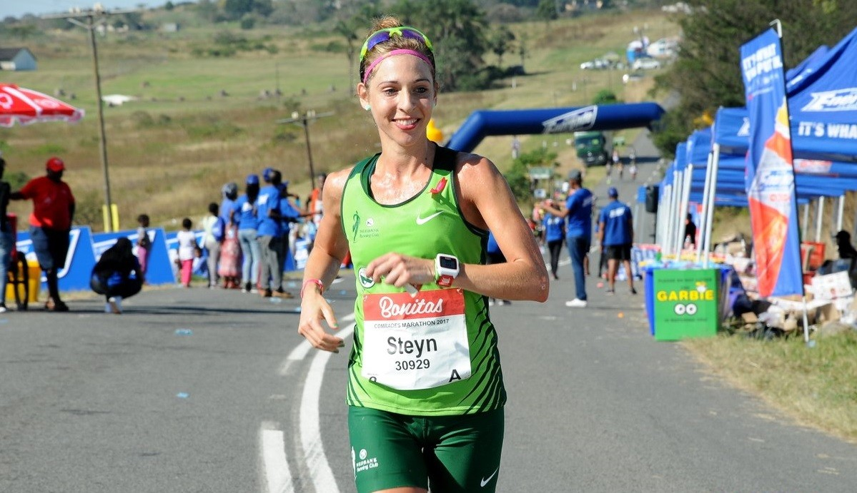 South Africa's ultra star Gerda Steyn is going to run the New York Marathon
