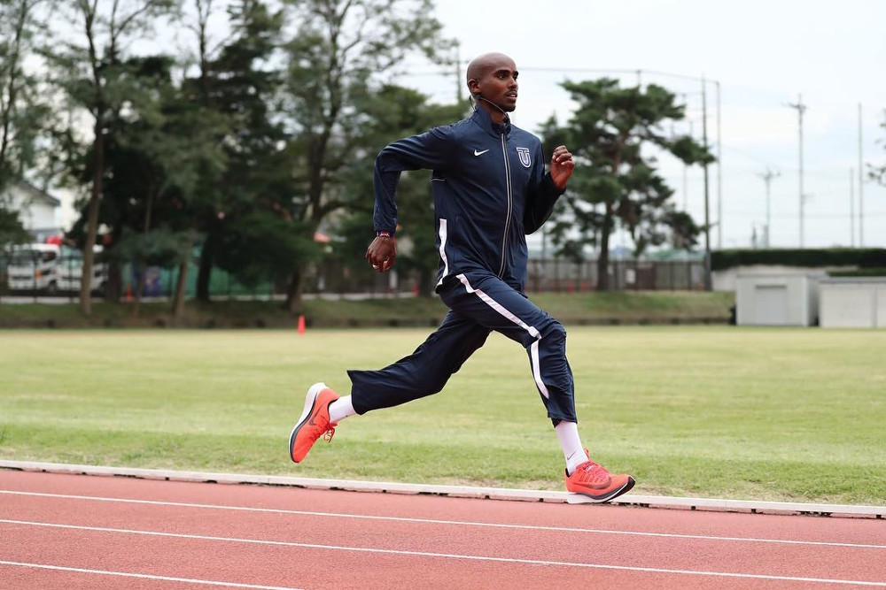 Work your core like champion Mo Farah