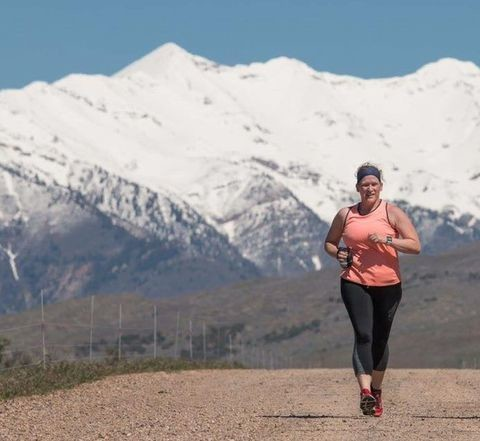 Deanna Tysdal doesn't let Multiple Sclerosis stop her from running