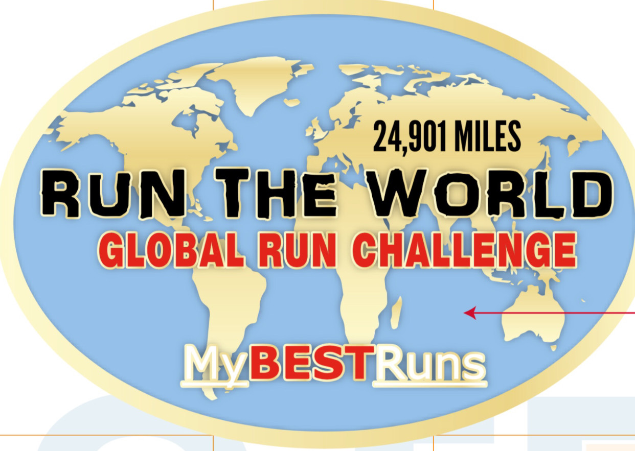 The RUN THE WORLD Global Run Challenge 1 has Started, the team is 175 strong from 15 countries