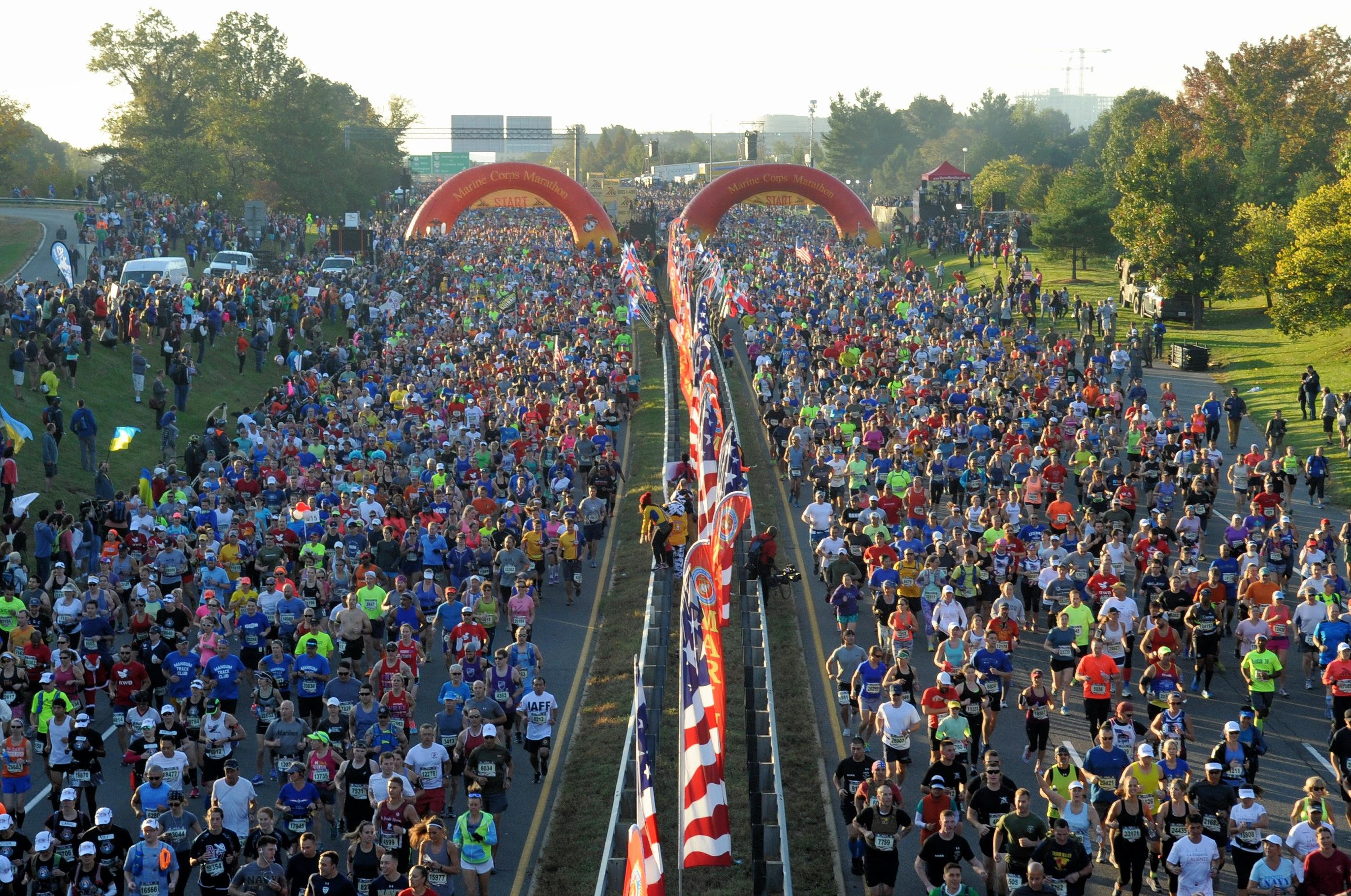 Marine Corps Marathon introduces the MCM50K