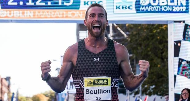 Irish runner Stephen Scullion has qualified for the Tokyo Olympic Games after he finished 5th in the Houston Marathon