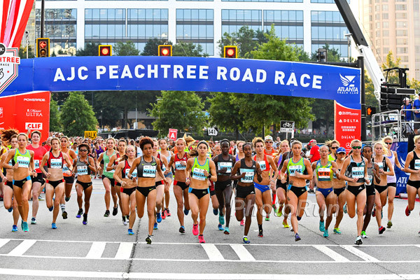 A Strong Elite women´s Field is set to attempt to lower the course record of 30:32, set by Lornah Kiplagat in 2002 at AJC Peachtree Road