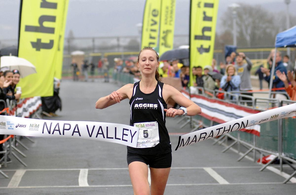 2014 Napa Marathon Champion Jenny Kadavy Is going to run the new Kaiser Permanente Napa Valley Half Marathon