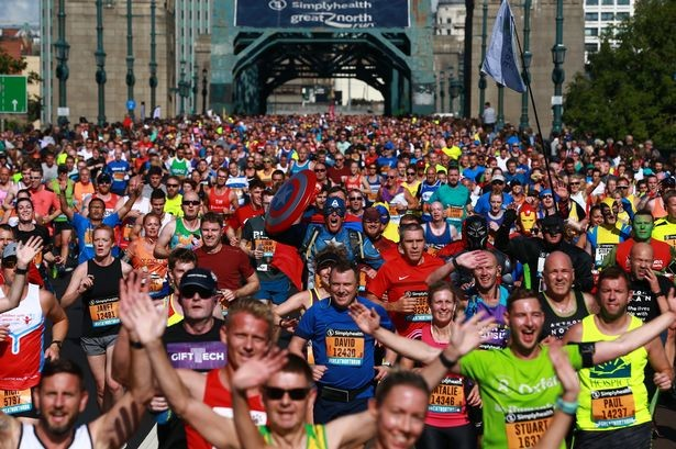 The general entry ballot opens for the 40th Annual Great North Run