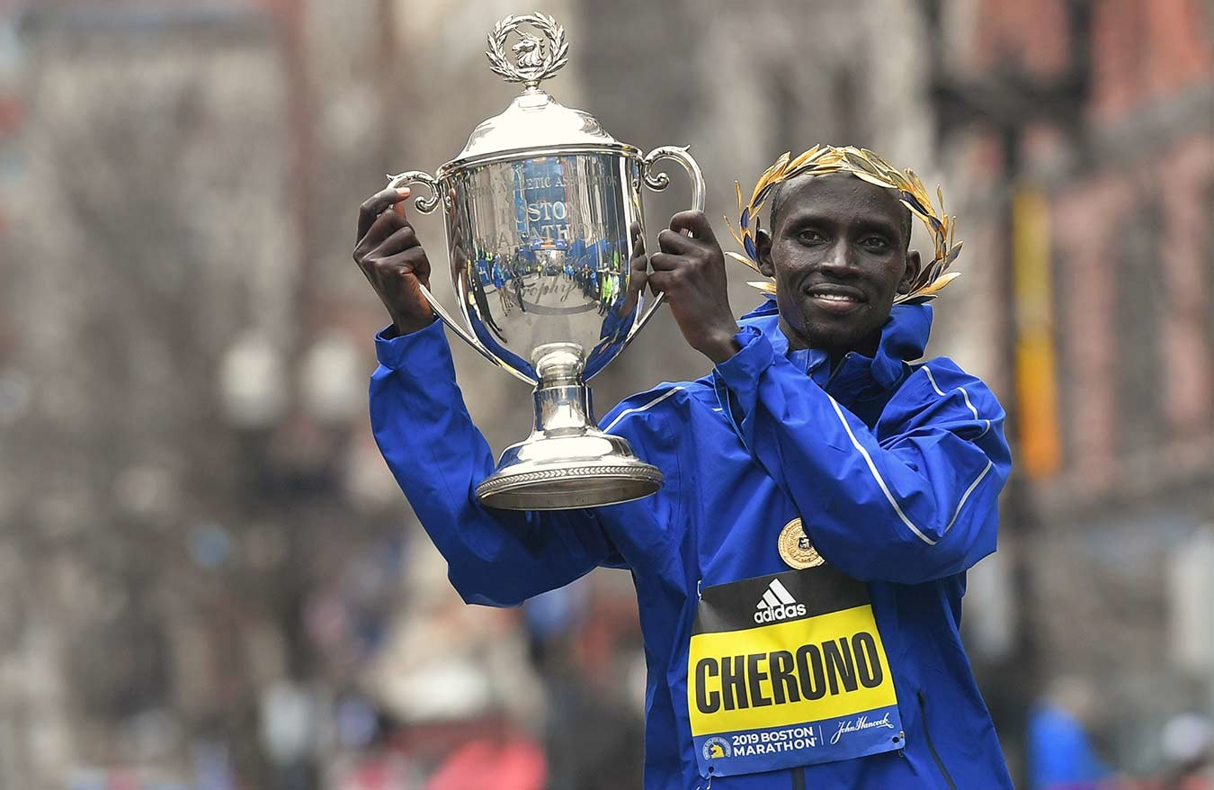 Reigning champions Lawrence Cherono and Worknesh Degefa will headline the 124th edition of the Boston Marathon