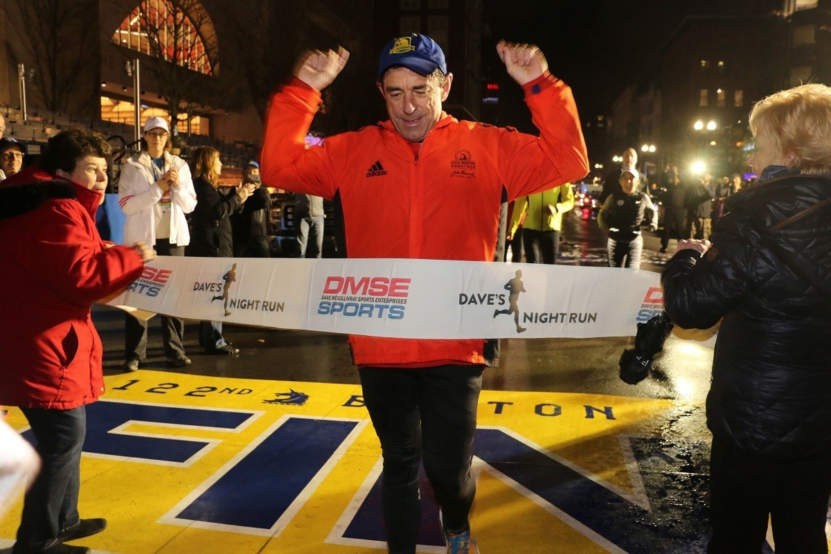 Boston Marathon Race Director Dave McGillivray is going in for triple bypass surgery on Friday Oct 12
