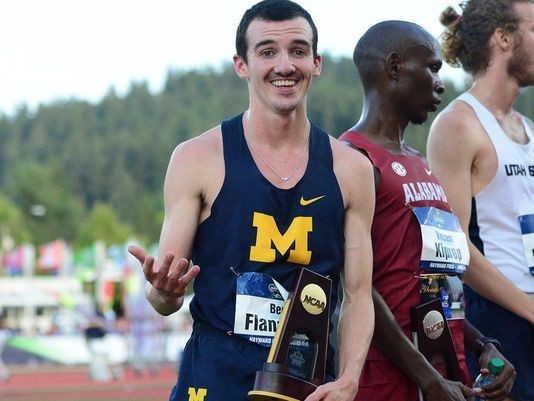 Ben Flanagan has signed with Rebook, and  becomes the second Canadian to join coach Chris Fox and the Reebook Boston Track Club