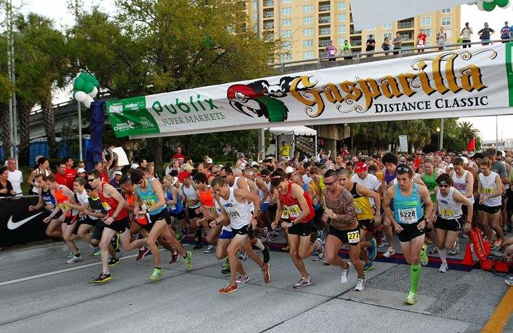 Gasparilla Distance Classic Half is part of the Professional Road Series
