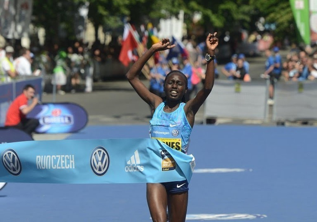 Prague Marathon winner Bornes Chepkirui says her campaign to win a ticket to the World Championships may depend on her performance at the Osaka International women's marathon on Sunday