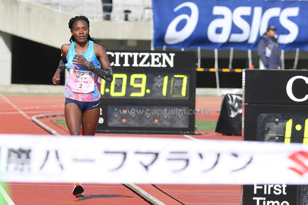 Defending Champions Betsy Saina and Edward Waweru will defend their titles at Kagawa Marugame International Half Marathon