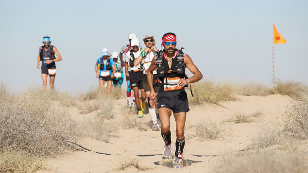168 mile Al Marmoom Ultramarathon is one of the world's longest desert ultras