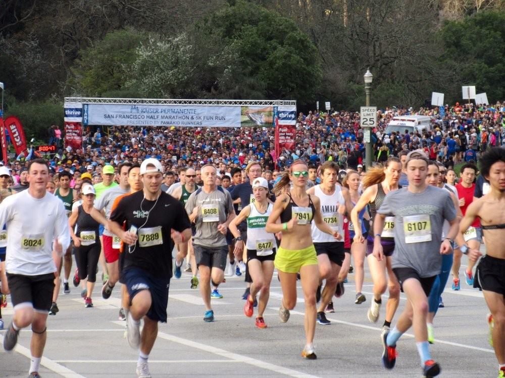 Registration for the 37th Kaiser Permanente San Francisco Half Marathon, 10K & 5K is now open