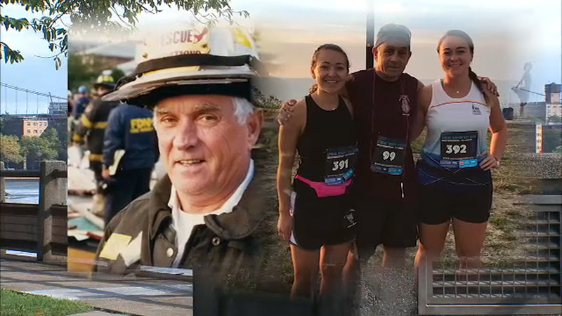 Battalion Chief Joe Downey is running the New York Marathon in honor of his father