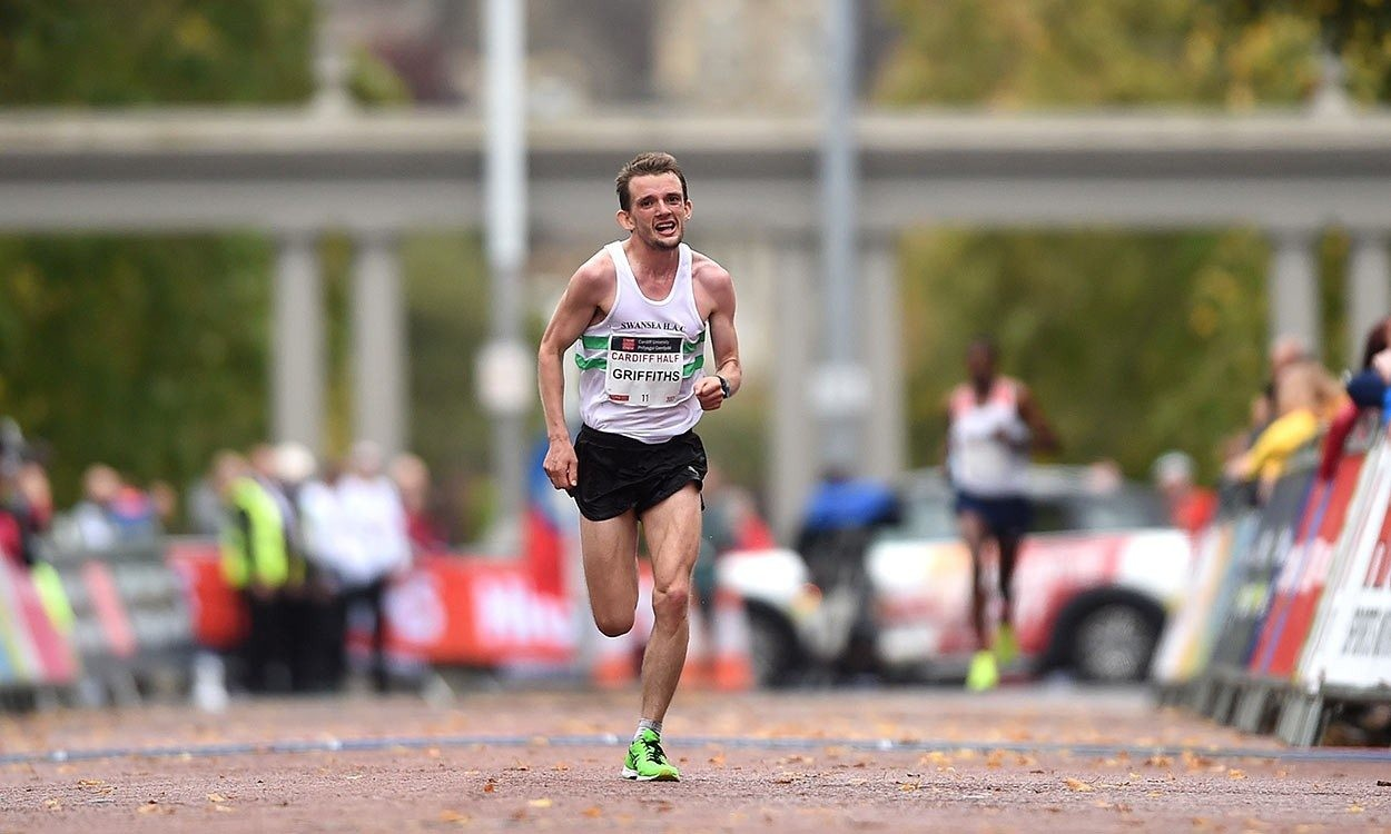 British athlete Dewi Griffiths will be running the Houston half marathon