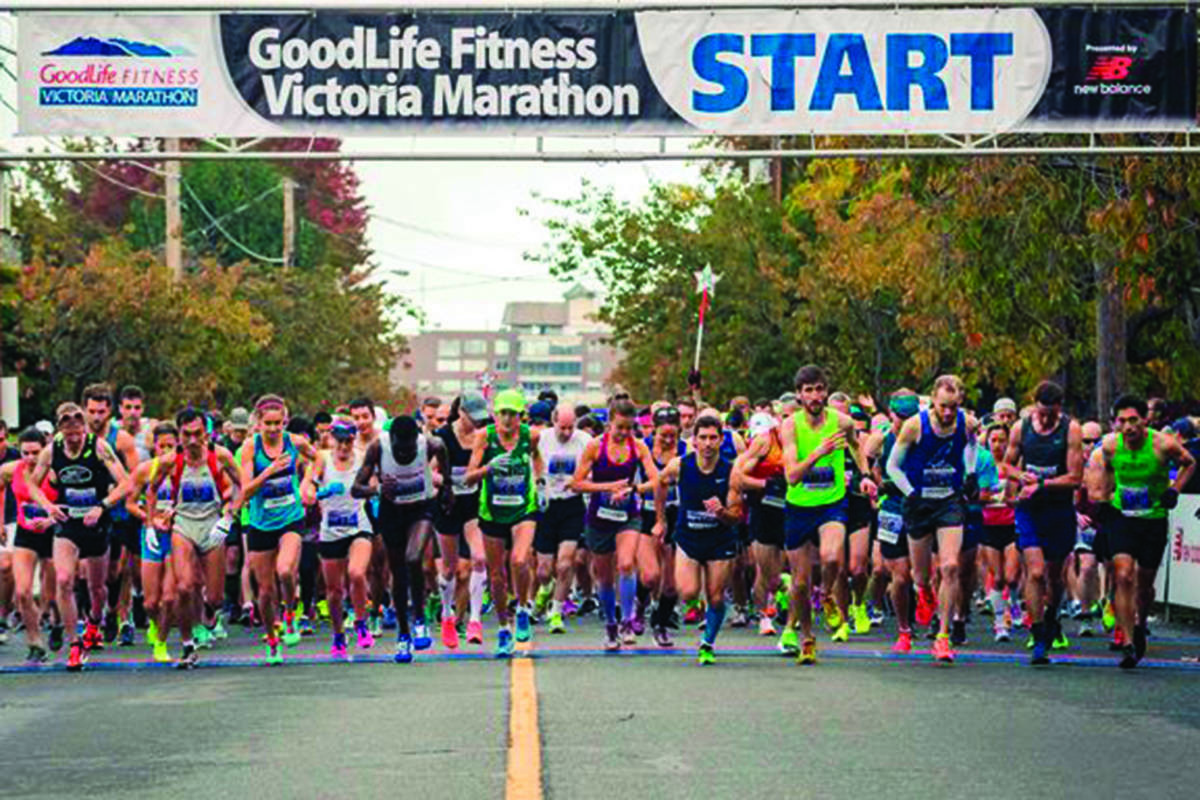 GoodLife Fitness Victoria Marathon has been cancelled due to COVID-19 pandemic