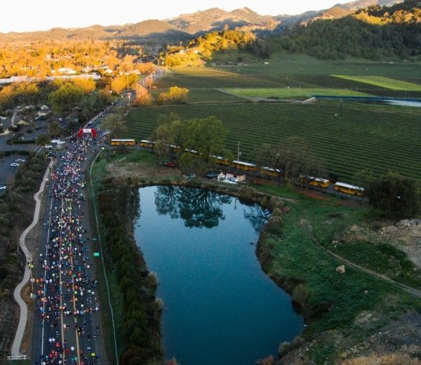 The Napa Valley Marathon 2020, has the largest field ever with over 5,000 entrants